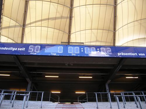 Stadion Uhr