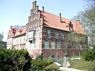 Schloss im Fruehling