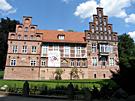 Schloss im Sommer